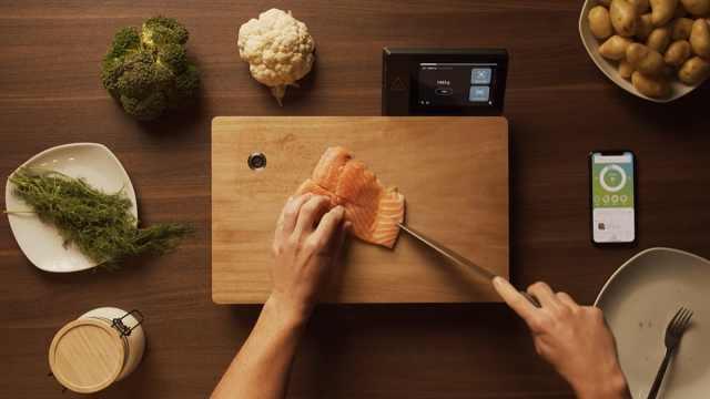 菜板玩出新花样,智能检测各种食物营养