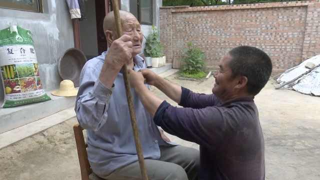 他照顾继外公终身未娶:小时候被他疼爱,忘不了恩情