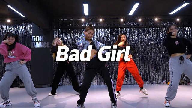 音音翻跳 woo!ah! -《Bad Girl》,俏皮热辣
