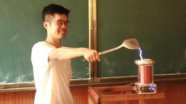 """宝藏老师 初中老师的""""魔法""""课堂:刷题刷不出对物理的热情"""