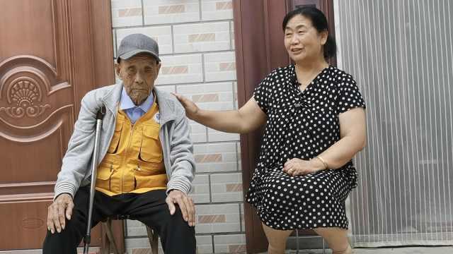她替夫尽孝照顾抗战老兵公公到101岁:帮去世22年丈夫完成心愿