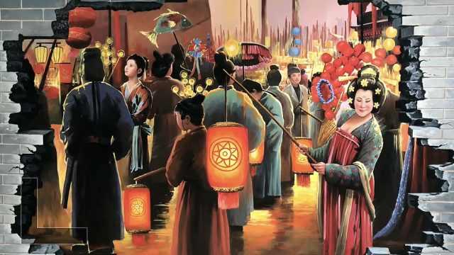 大唐长安市井生活啥样的?这7人在西安老围墙上用24幅画揭秘