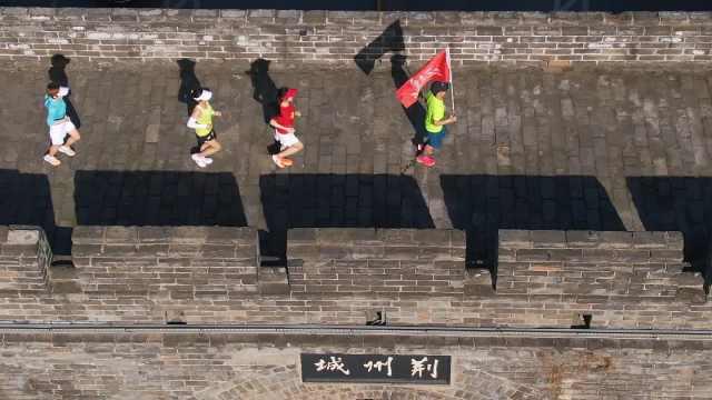 跑步赏荆州古城(嗨歌版)