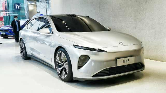 蔚来ET7明年将按时交付,自动驾驶辅助系统将超主流水准