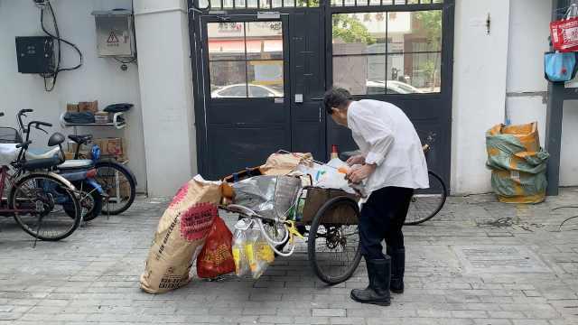 89岁浙大教师拾破烂9年,资金全部捐助贫困生