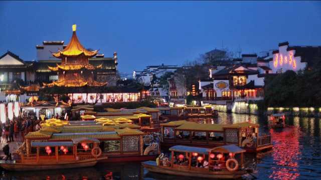 秦淮八艳?金陵十三钗?秦淮河真的只是为了旅游观赏吗?