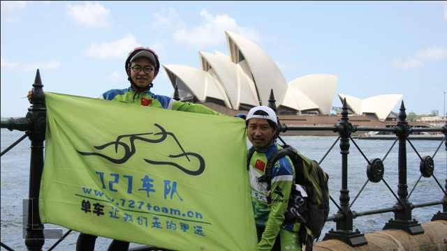 骑行发烧友组车队,曾一起骑到伦敦看奥运,还途经阿富汗