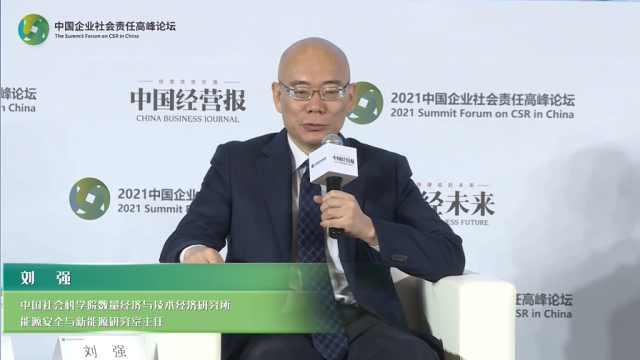 刘强:碳中和的困难是不知道怎么做