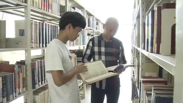 父子变校友学长学弟!湖北43岁父亲和19岁儿子同上一所大学
