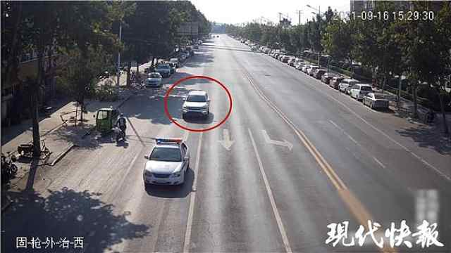 3公里,3分钟,徐州交警上演生死时速送男子就医