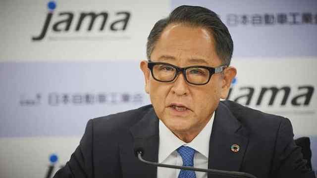 """丰田章男再次""""炮轰""""电动汽车:碳中和要符合国情"""
