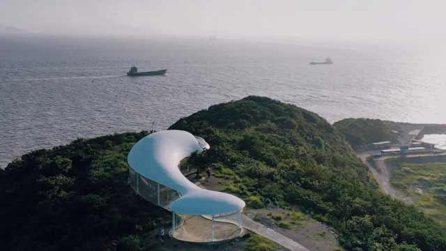 舟山普陀六横的掣鲸台你见过吗
