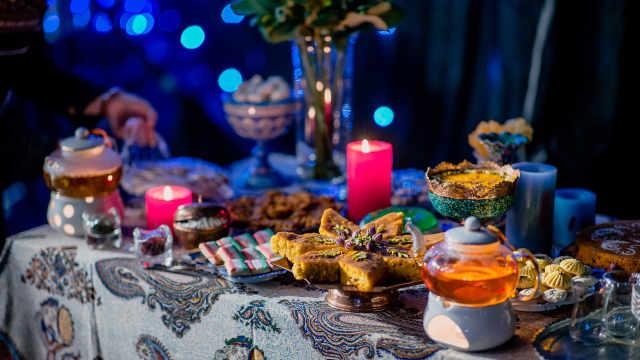 这么精致的伊朗点心你有吃过吗?