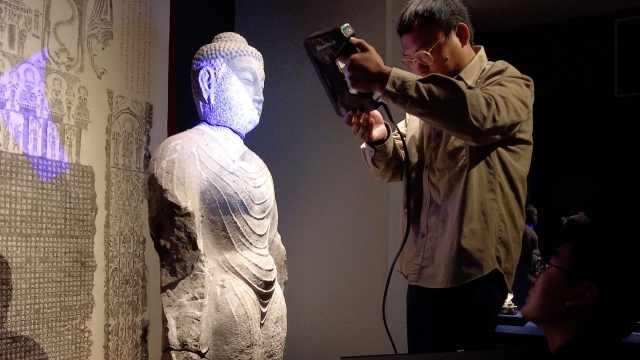 再现文物全貌!博物馆为千年石像数字建模,精确到0.1毫米
