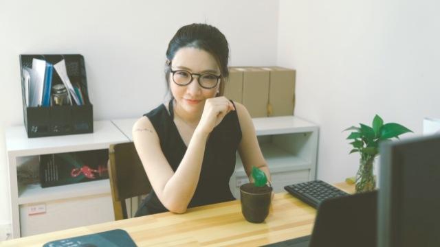 办公室脑残女的智障美食--盆栽甜品