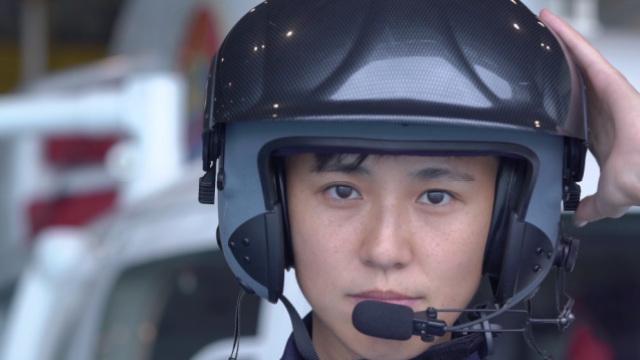 美女成搜救机长,9年救178条人命