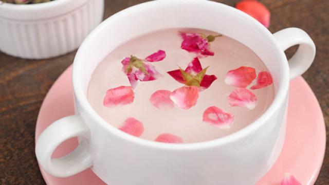 高颜值玫瑰凉粉,清凉解暑第一名