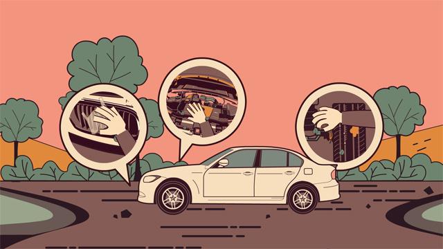 汽车涉水行驶后应该如何自检?