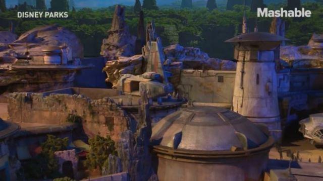 """迪士尼建造""""星球大战之地"""""""