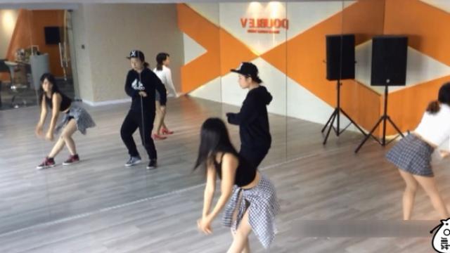 《knock》舞蹈分解教学part7