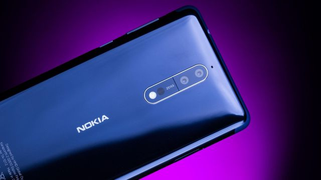 诺基亚新旗舰Nokia 8 发布