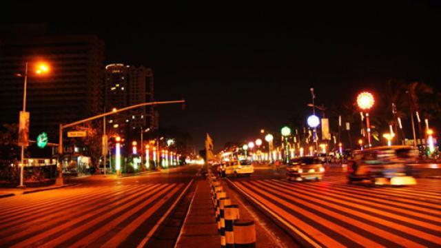 凌晨5点的马尼拉夜景你见过吗?