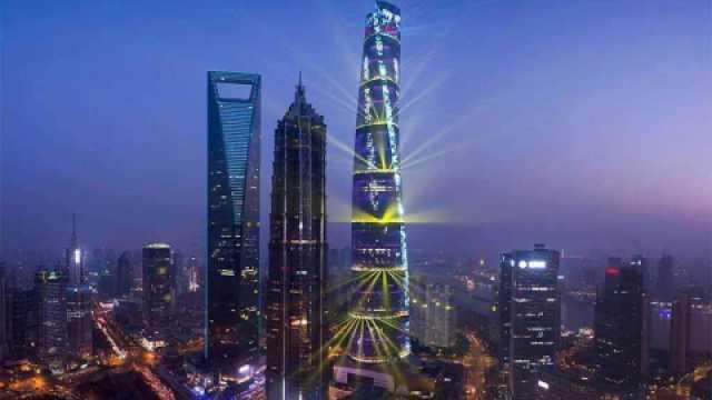 中国高楼成定海神针