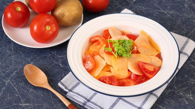 吃一次就爱上的家常菜,番茄炒土豆
