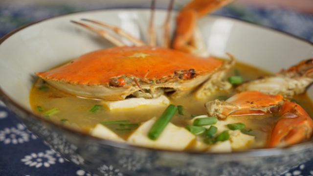 这个七夕为他煲一碗螃蟹豆腐汤~