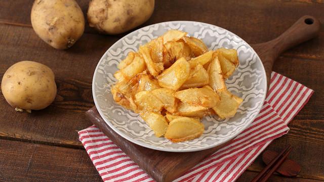 拔丝土豆怎么做才能拔出水平?