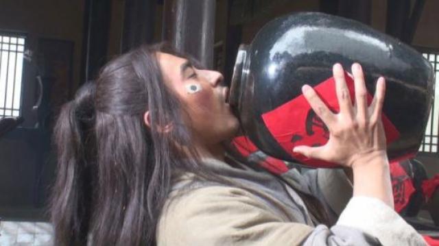 武松连喝18碗的原来是红酒?
