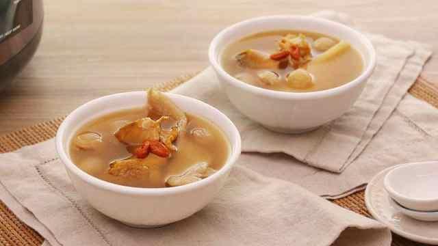 鲜甜又滋补,中秋一起喝汤吧!