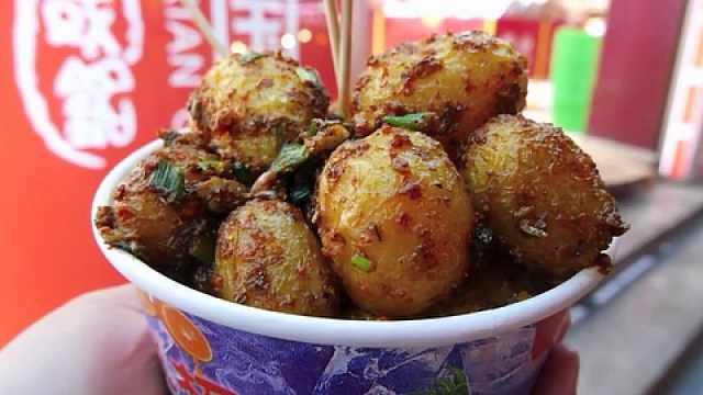 喷香美味的土豆,百吃不厌的小吃!