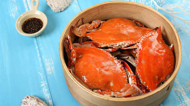 最原始的螃蟹味道,吃法还是简单好