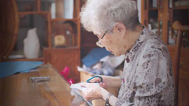 91岁仍坚守,剪艺宗师与她的人生