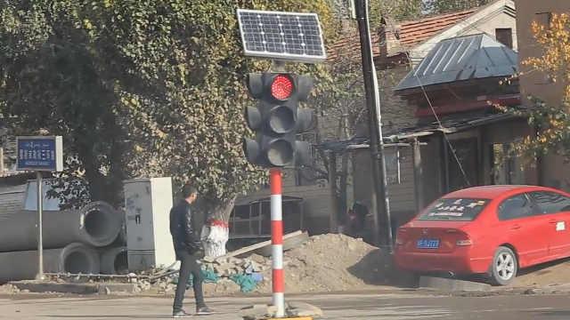 谁说新疆八卦城没有红绿灯,辟谣!