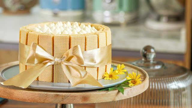 手残党也能做出美美哒榴莲蛋糕