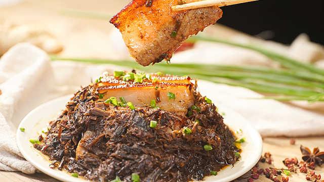 巨蟹座超恋家,做份梅菜扣肉送给他