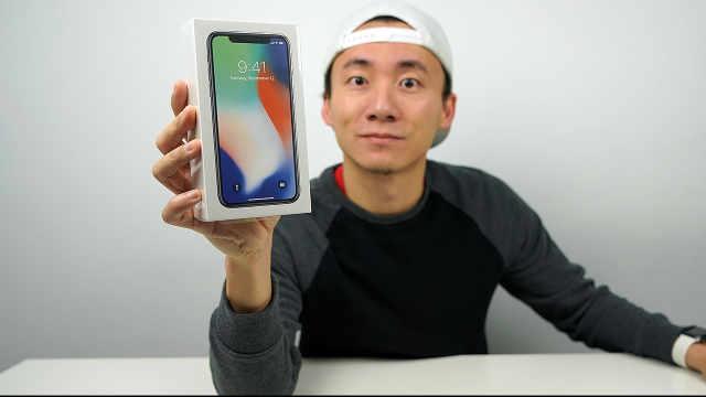 iPhone X 首发开箱