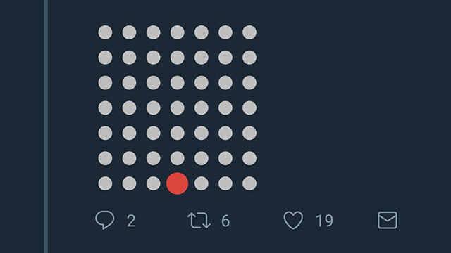 网友脑洞大开在推特留言框里下棋