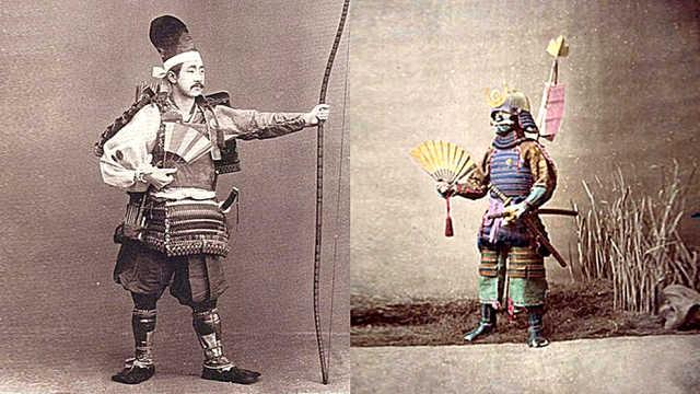 日本江户时代武士折扇还有实战作用