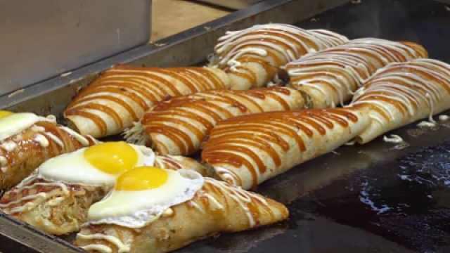 早餐吃上这样一个,超满足!