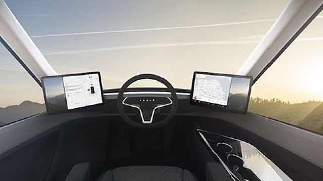特斯拉发布电动卡车 续航800公里
