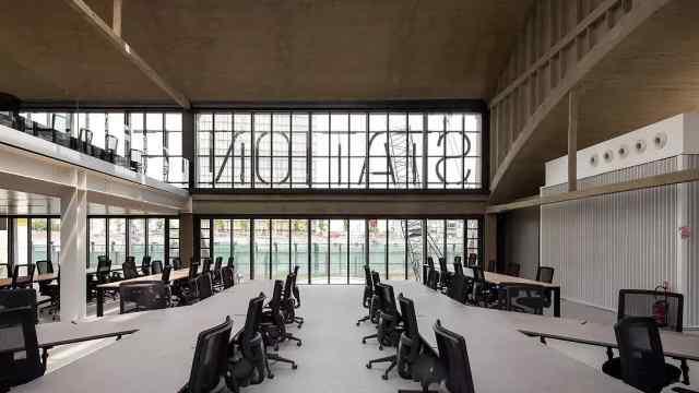 富豪改造火车站成全球最大创业中心