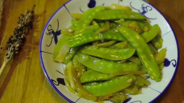 潮音潮人:咸菜炒荷兰豆