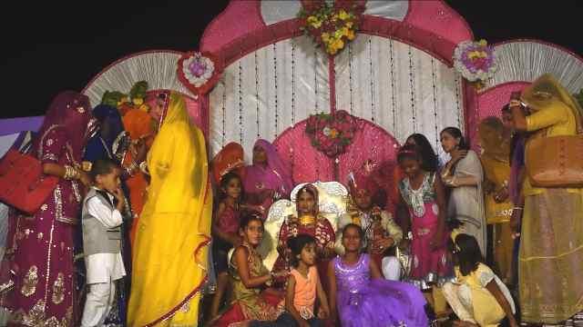 印度人的婚礼有多疯狂完全不能自拔