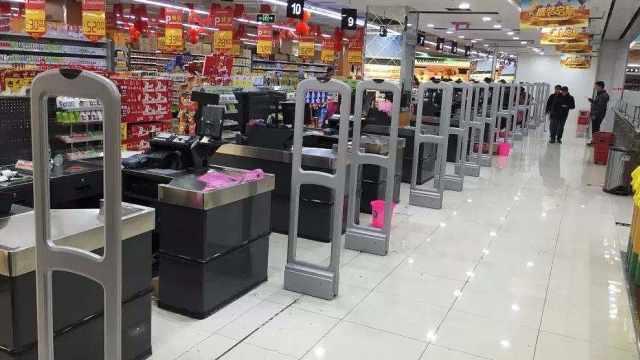 超市是怎么检测出商品没给钱的?