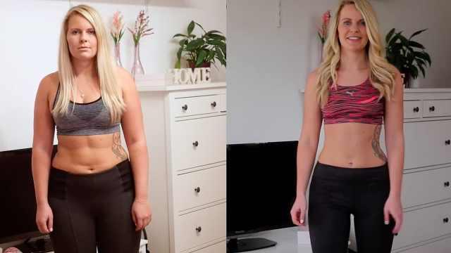 跑步20周之后,她发生了惊人改变