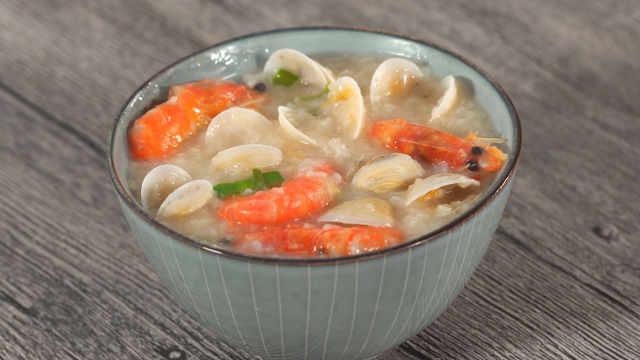 海鲜粥,冬日最美味的温暖!