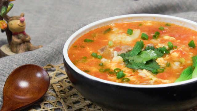 番茄疙瘩汤,儿时最鲜美的味道!